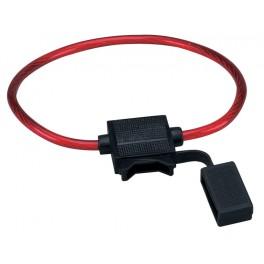 Inline car fuse holder